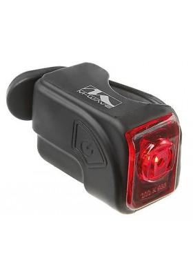 LED Rücklicht Silikonlampe Rot Battery Lithium Akku USB-Ladekabel Hinter Light